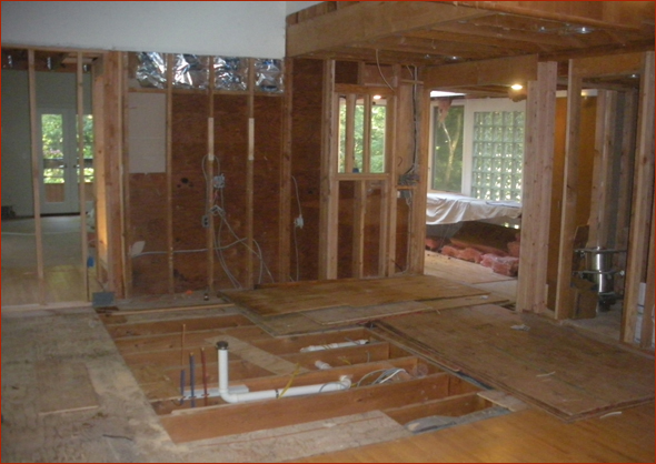 Clark Construction Begins The Construction Phase Of The Design Build  Process With Plumbing For The