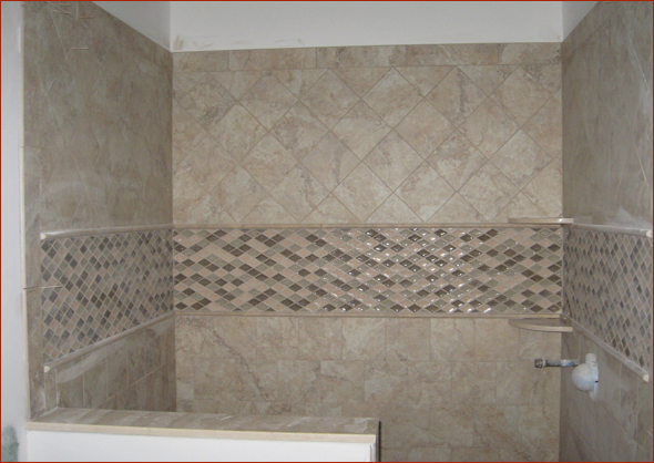 Charming Shower Tile Layout Pictures Inspiration - The Best Bathroom ...